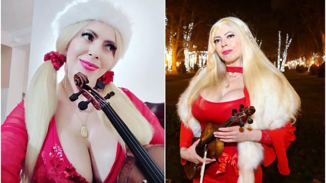 Violinistica: Povećanje grudi mi je najljepši božićni dar od muža