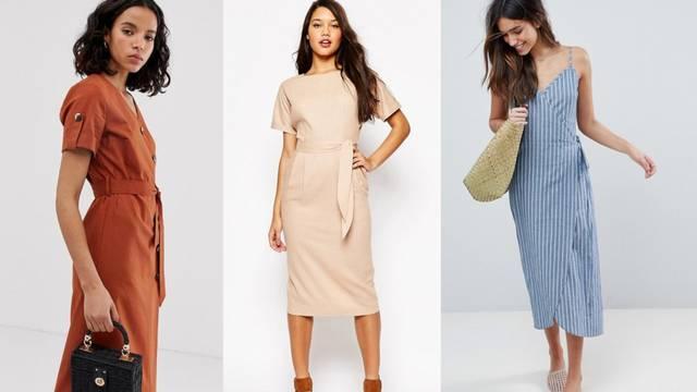 Lanena haljina: Kreacija od prirodnog materijala koji hladi