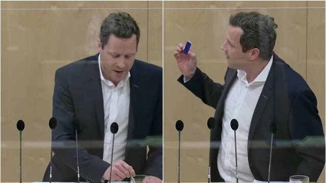 Zastupnik testirao Coca-Colu u parlamentu na koronu, zbog neznanja test ispao pozitivan