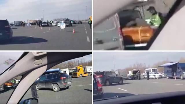 Akcija kod Rugvice: Zaustavili aute, pregledali su i jedan lijes?