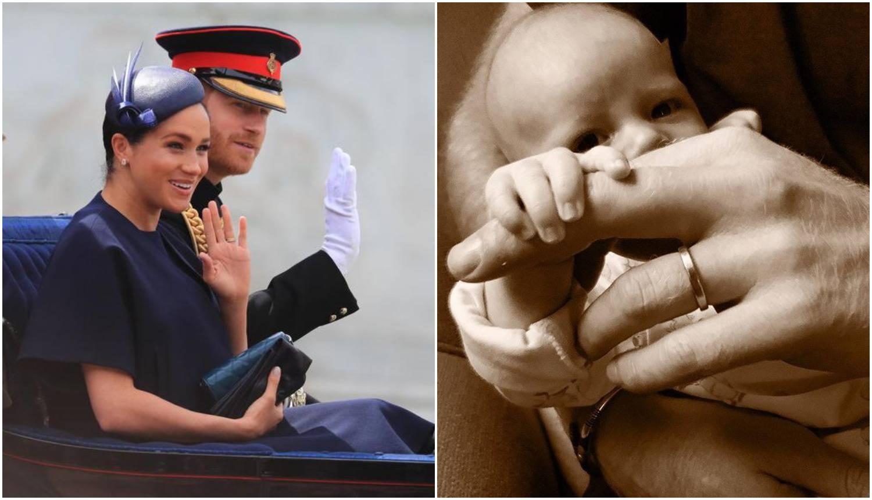 Meghan i Harry čestitali Dan očeva fotografijom Archieja