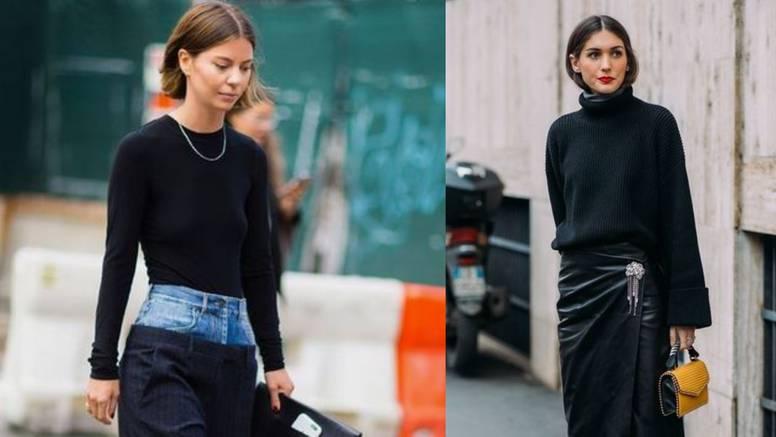 Kolorističko pojačanje na crnoj odjeći: Birajte efektne tonove