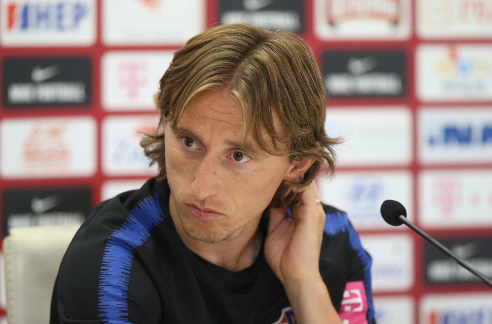 Split: Dalić i Modrić na konferenciji hrvatske nogometne reprezentacije