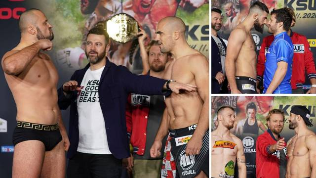 Croata dosta niži, Pejić je željan borbe, a Erslan jasan: And new!