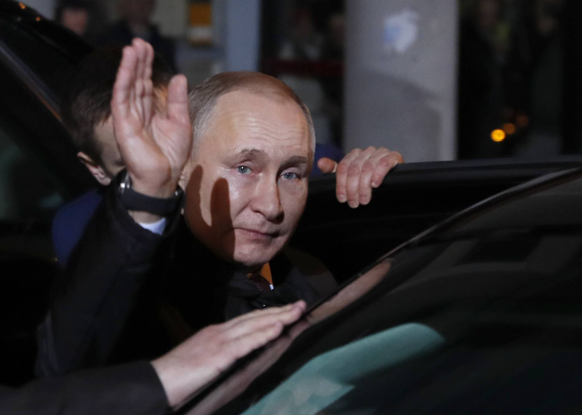 Russia's President Vladimir Putin visits Serbia