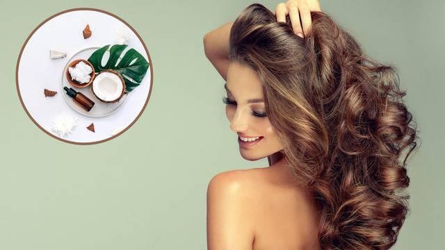 Topla 'kupka' od kokosova ulja spas je za suhu kosu i kod prhuti