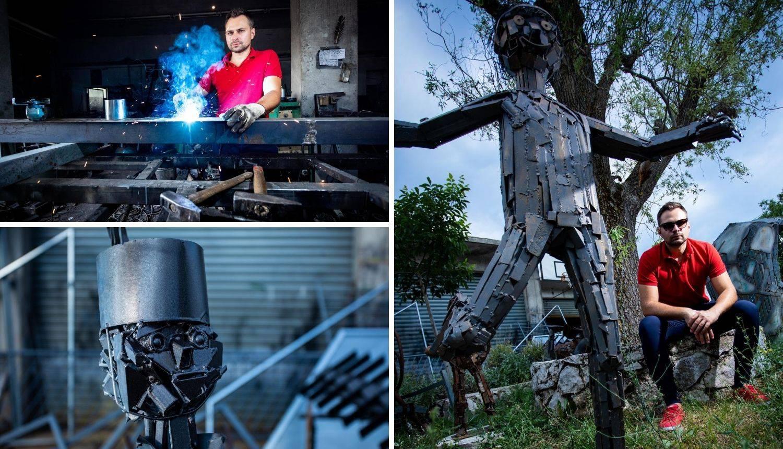 Bože je inženjer i umjetnik: 'Od željeza stvaram životinje i ljude'