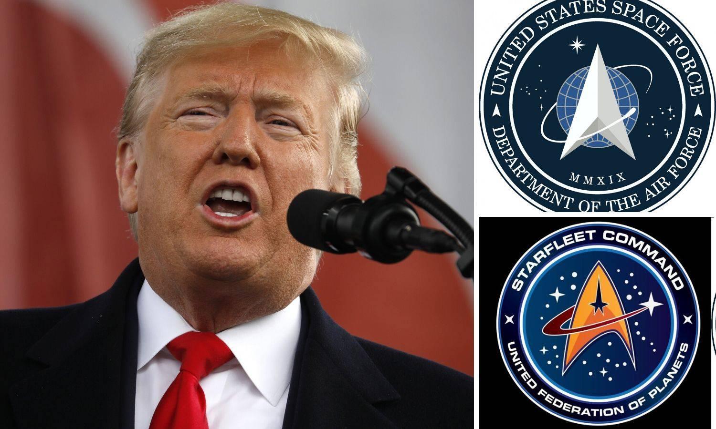 Trump ukrao znak Zvjezdanih staza? Oglasio se i Pentagon