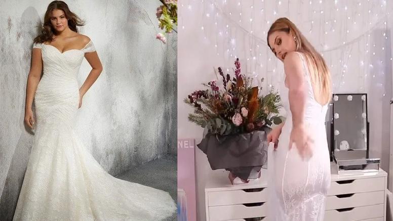 Kupila vjenčanicu s interneta: Propale mi grudi, svi vide gaće