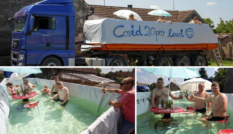 U kamionu napravio bazen: 'Mi želimo da svi dođu i uživaju!'