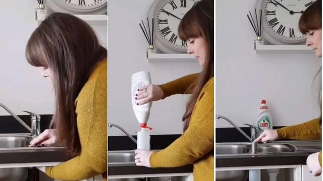Otkrila je praktičan trik s kojim ćete si olakšati pranje suđa