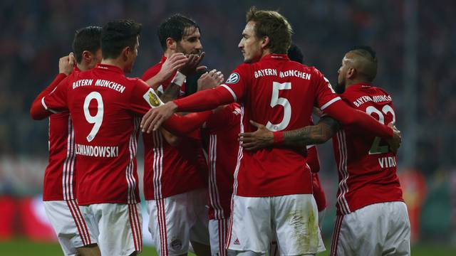 Football Soccer - Bayern Munich v VFL Wolfsburg