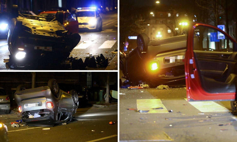 Užas u Zagrebu: Netko je ležao na cesti, semafor skroz uništen
