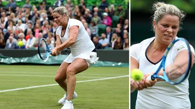 Rodila troje djece i pauzirala 8 godina: Kim Clijsters opet igra!