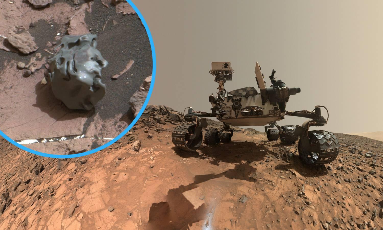 Bizarni ulov na Marsu: Rover našao potpuno glatki meteorit