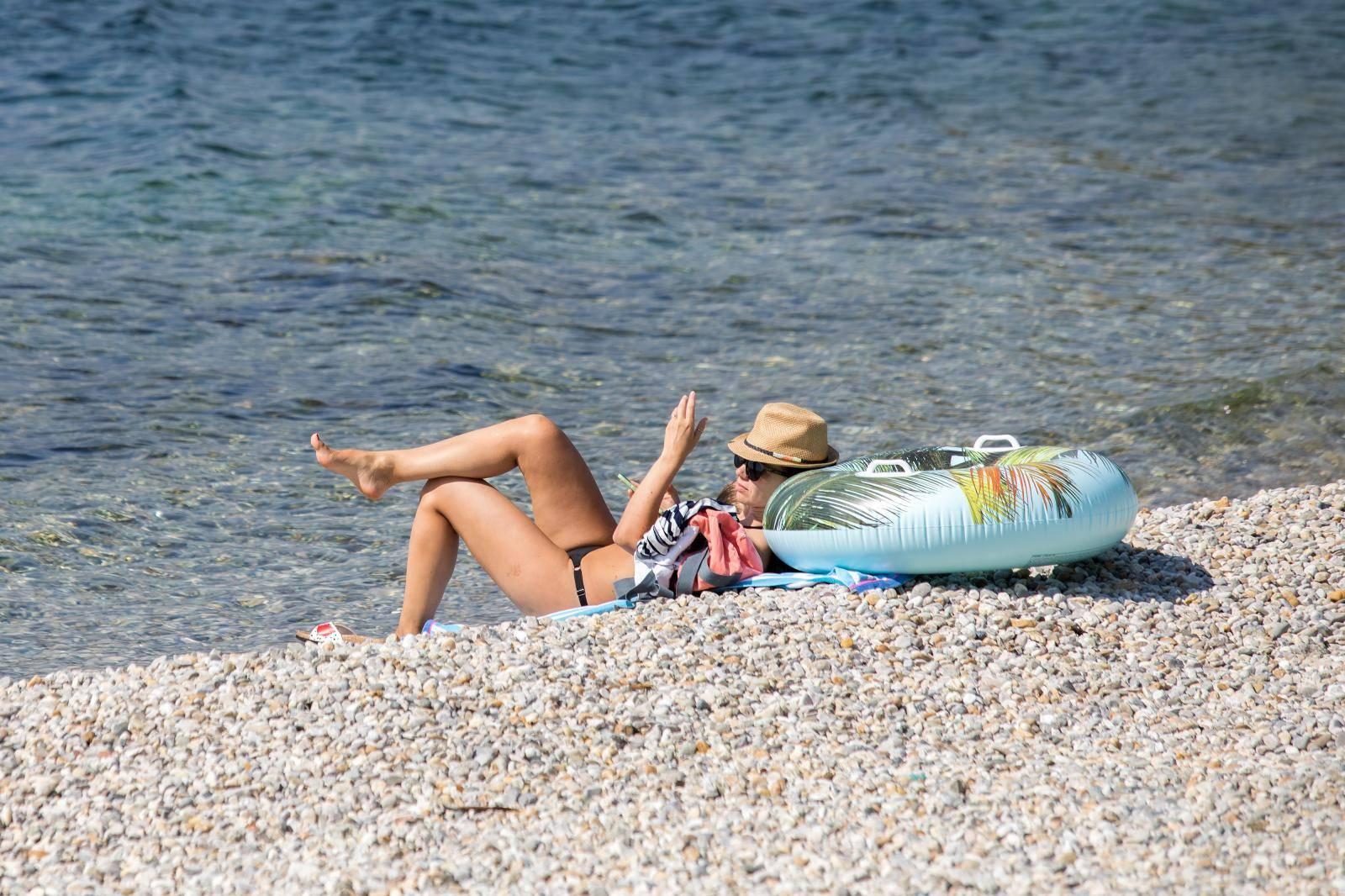 Rijeka: Završetkom ljetnih praznika i godišnjih odmora plaže su gotovo prazne