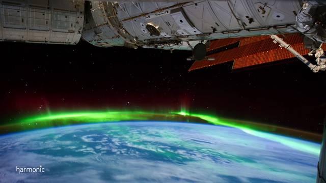 Oduzima dah: Najbolji video polarne svjetlosti - iz svemira