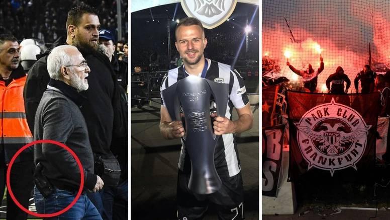 Gazda PAOK-a pištoljem dijelio pravdu, Hrvat u Sportingu dobio batina pa u Solunu postao ikona