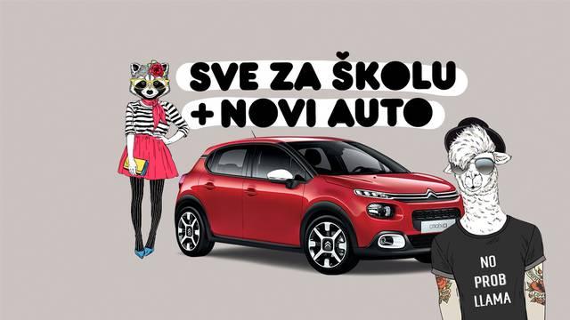 Opremite djecu za školu i osvojite novi Citroën C3!