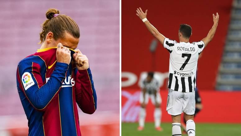 Juve bacio udicu u Barcelonino dvorište: Griezmann dolazi kao zamjena za Cristiana Ronalda?