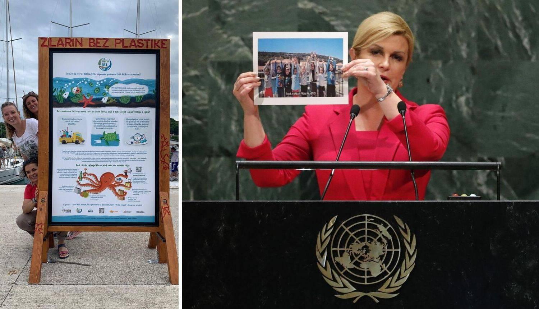'Sretne smo jer je predsjednica spomenula otok Zlarin u UN-u'