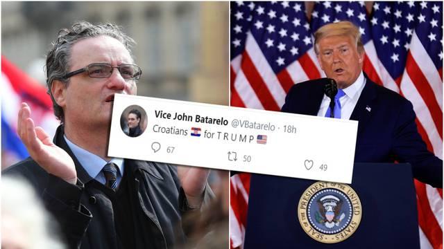 'Hrvati su za Trumpa': Twitter sad neumorno sprda Batarela