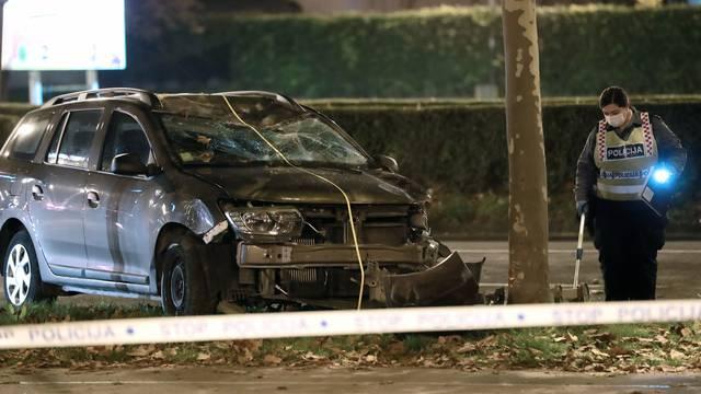 Zagreb: Prometna nesreća u Ulici grada Vukovara