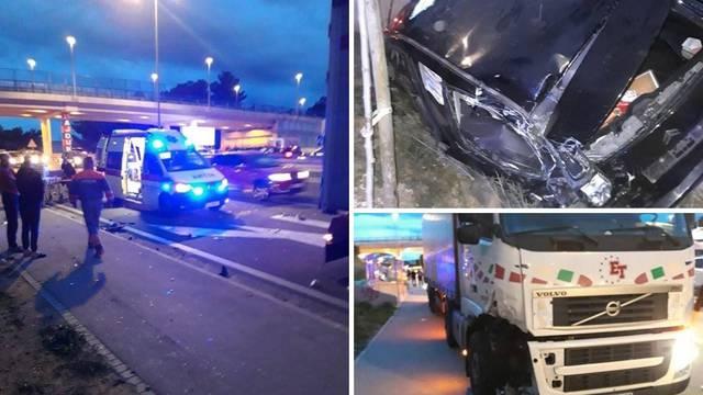 Sudarili se kamion i  auto kod Solina, ozlijeđen jedan čovjek