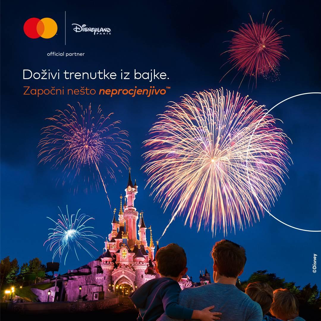 Mastercard nagrađuje:Osvojite putovanje u  Disneyland