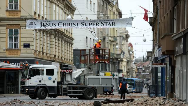 Oštećenja u centru Zagreba nakon potresa