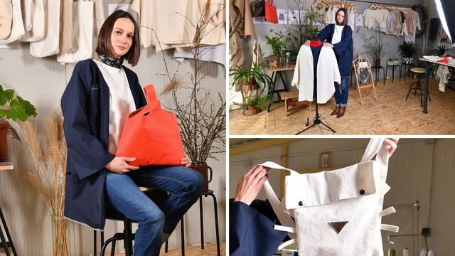 Ivana šiva samo s prirodnim materijalima: Radim haljinice od koprive, torbe od ananasa...
