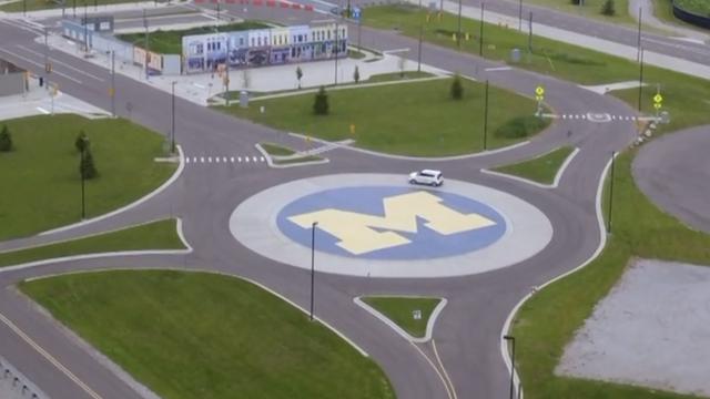 'Umjetan' grad u kojem vozila uče kako voziti bez vozača