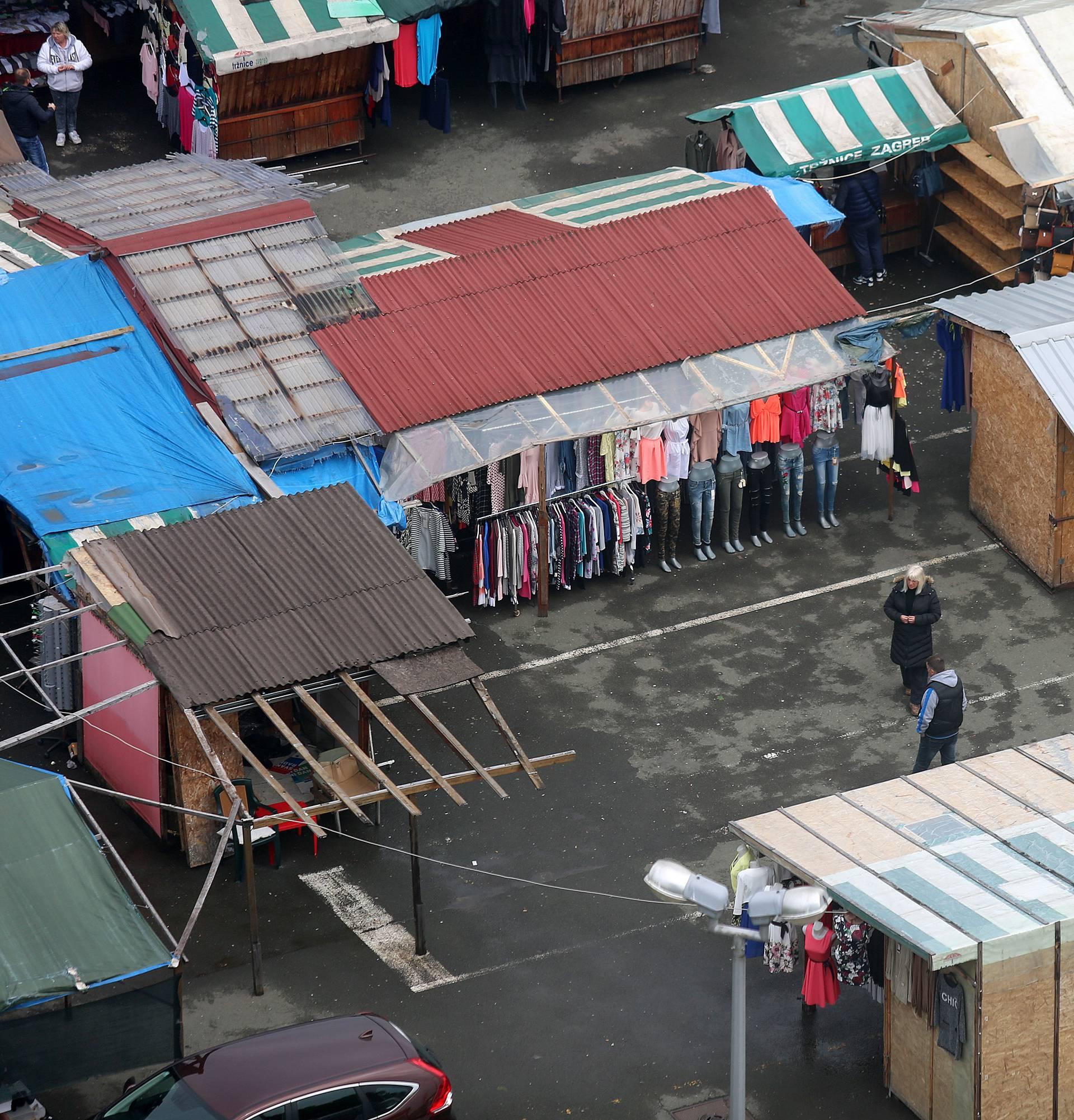 Grad Zagreb: Borongajska tržnica seli na terminal Dubec