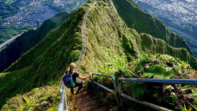 Popularnim stepenicama na Havajima prijeti uklanjanje: One mogu biti opasne po život