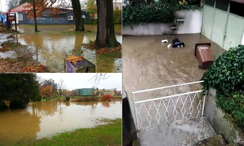 I Zagreb je poplavljen: 'Kako ću na posao? Pa idem po luftić...'