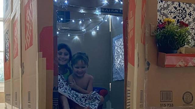Djeci od kartonskih kutija za 63 kn napravio igraonicu iz snova