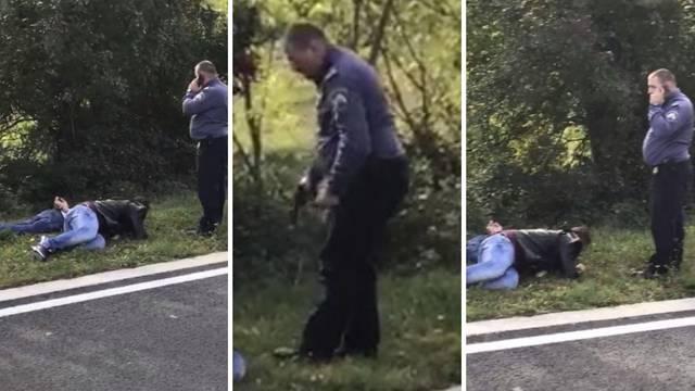 Lovice po Istri: Migranti skočili iz busa ravno u ruke policajaca