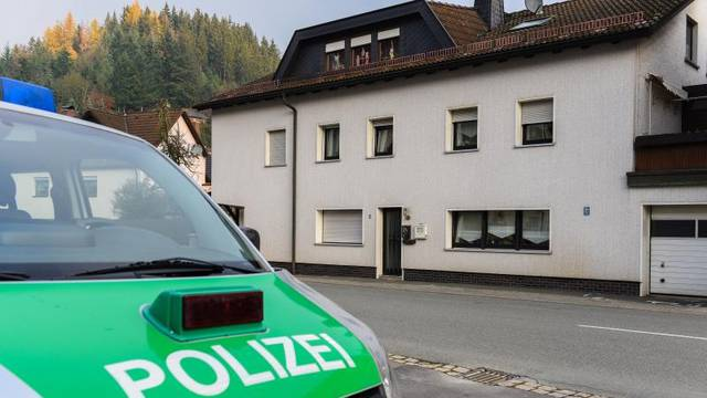 Children's bodies discocered in building in Wallenfels
