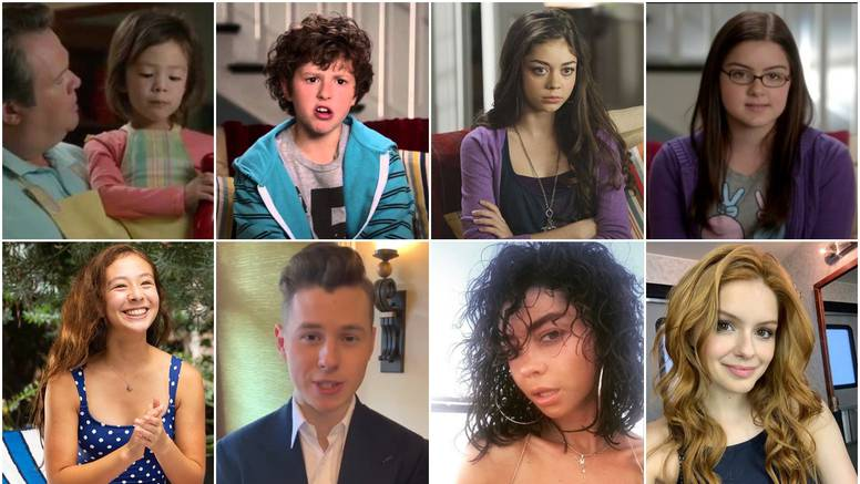 Neprepoznatljivi: Evo kako su rasla djeca u 'Modernoj obitelji'