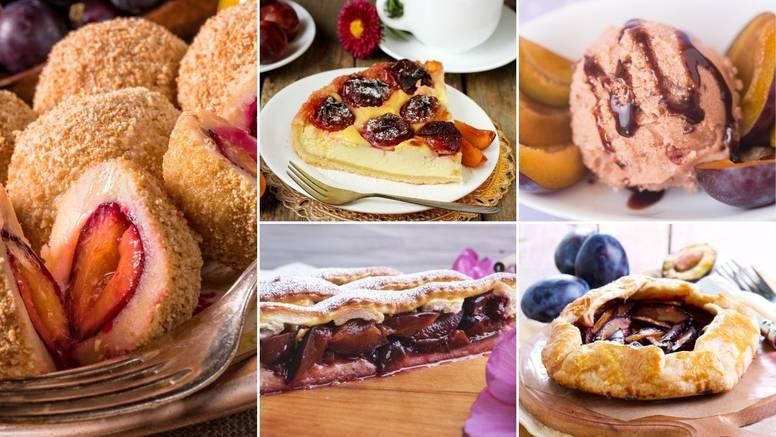 5 recepata za deserte od šljiva: Cheesecake, hrskava pita, fini tart, knedle i sladoled