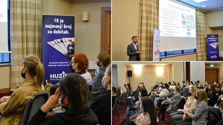 U organizaciji HUZIS-a održana edukacija o ovisnosti o kockanju