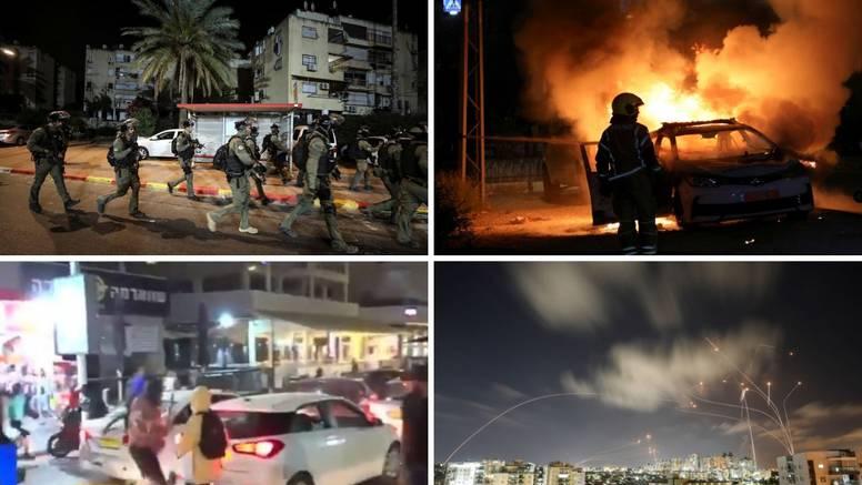 Potpuni kaos u Izraelu: Palež i neredi na ulicama, raste strah od rata, u Gazi 65 poginulih