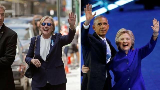 Nova teorija zavjere: Hillary je jako bolesna, glumi je dvojnica