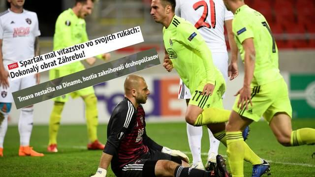 Slovački mediji: Dinamo imao savršeni preokret u Trnavi...