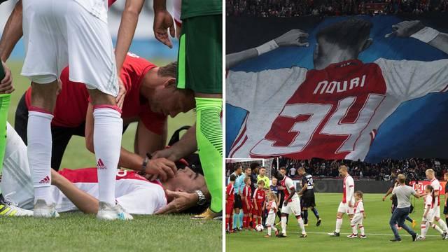 Igrač Ajaxa koji je bio u komi pušten kući: Zna se i nasmijati