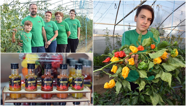 Obitelj Preložnjak: Uzgajamo najljuću papričicu na svijetu