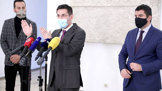 Zagreb: Klub zastuopnika Mosta o ograničenju broja zastupnika u sabornici