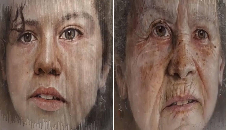 Umjetnik radi slike koje 'ostare' ili 'umru' dok prođete kraj njih