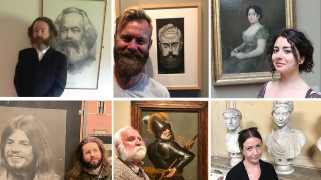 Twitter trend: Ljudi otkrili kako su dvojnike pronašli u muzejima