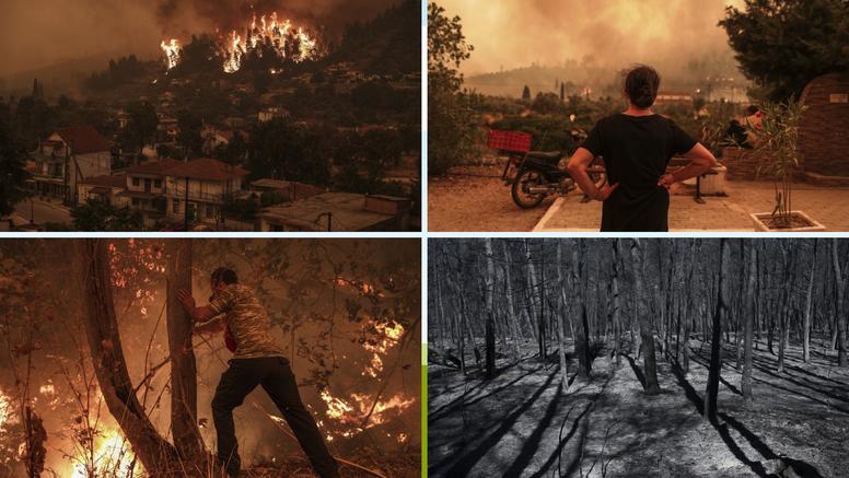 Požari haraju Mediteranom: U Alžiru je sve više mrtvih, vatra poštedjela drevnu Olimpiju